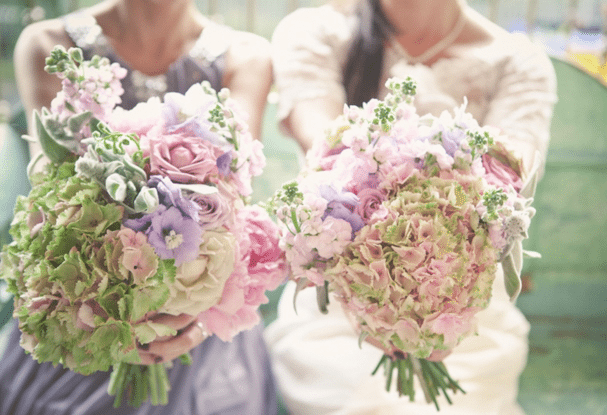 Beach and Vintage Wedding Bouquets