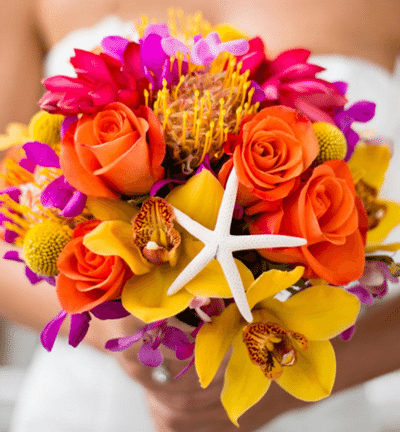 Beach and Vintage Wedding Bouquets. Desktop Image