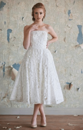 Midi Wedding Gown