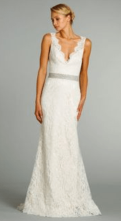V-neck - Wedding Gowns