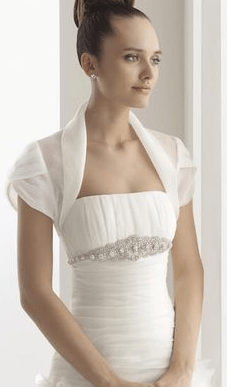 Wedding Dress Bolero