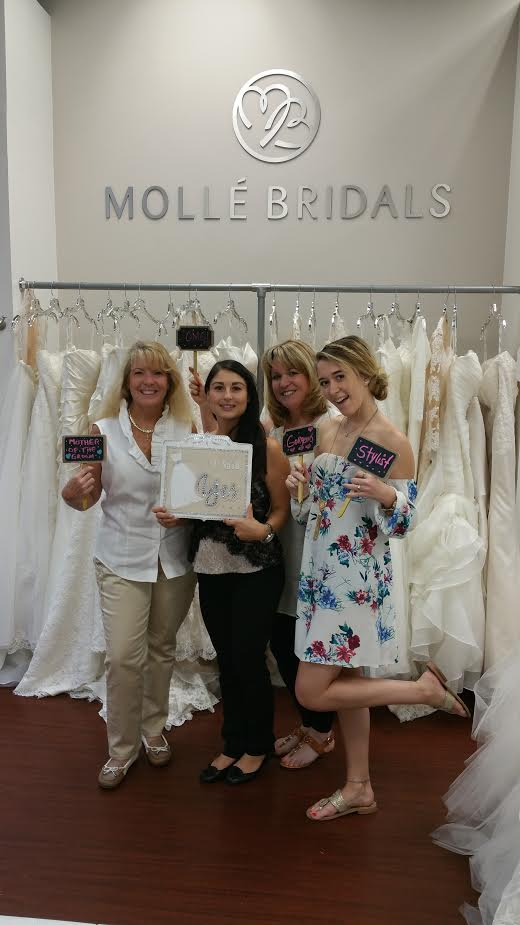 This Adorable Bride to Be Said YES to the DRESS!!! Image