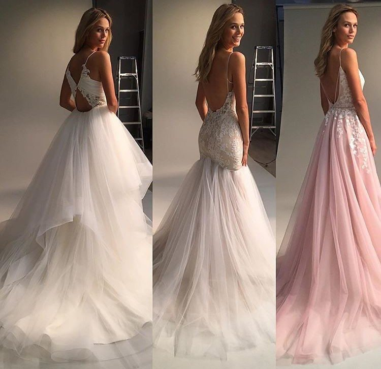 Which Bridal Dress Open Back Would you Choose? Image