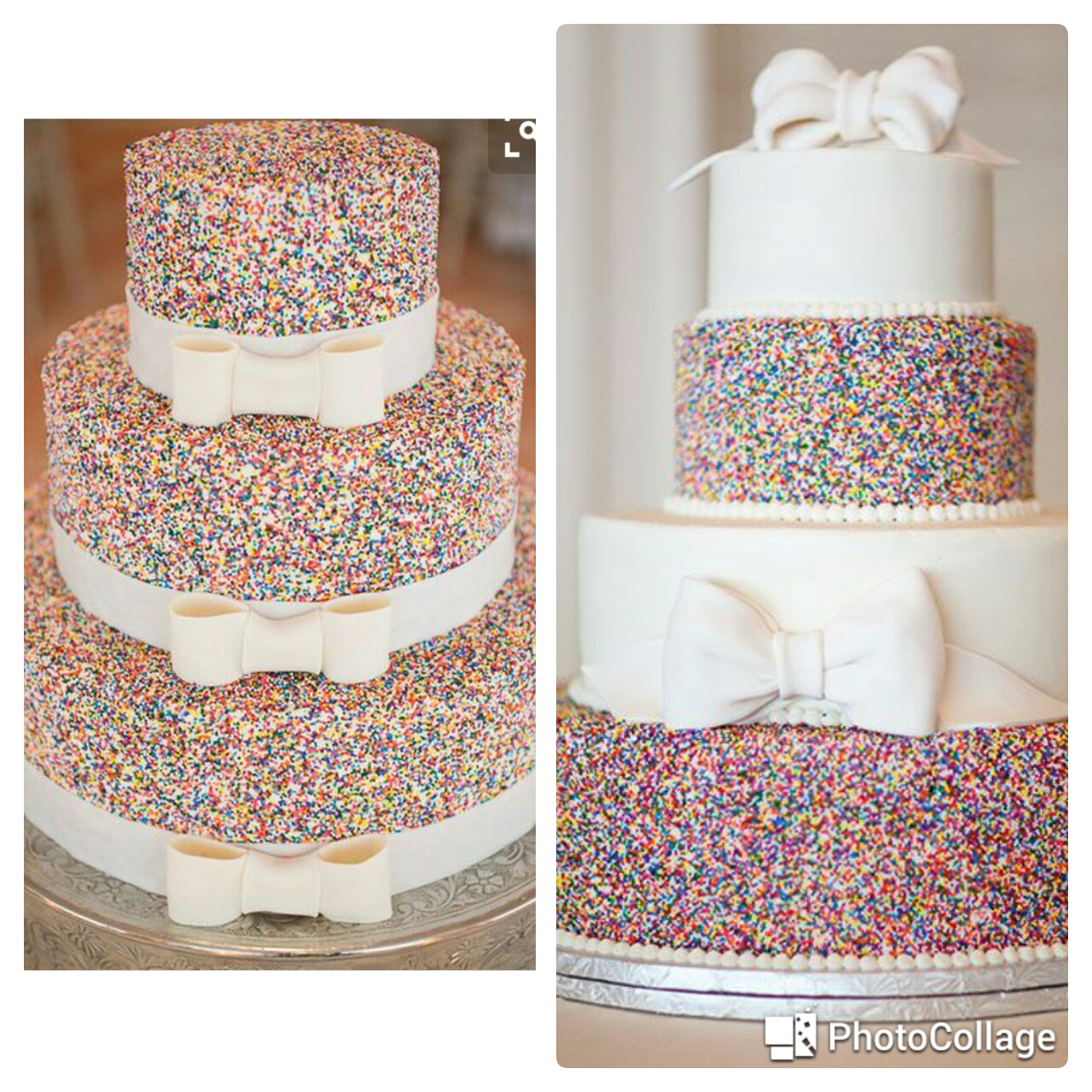Sprinkles Wedding Cakes. Mobile Image