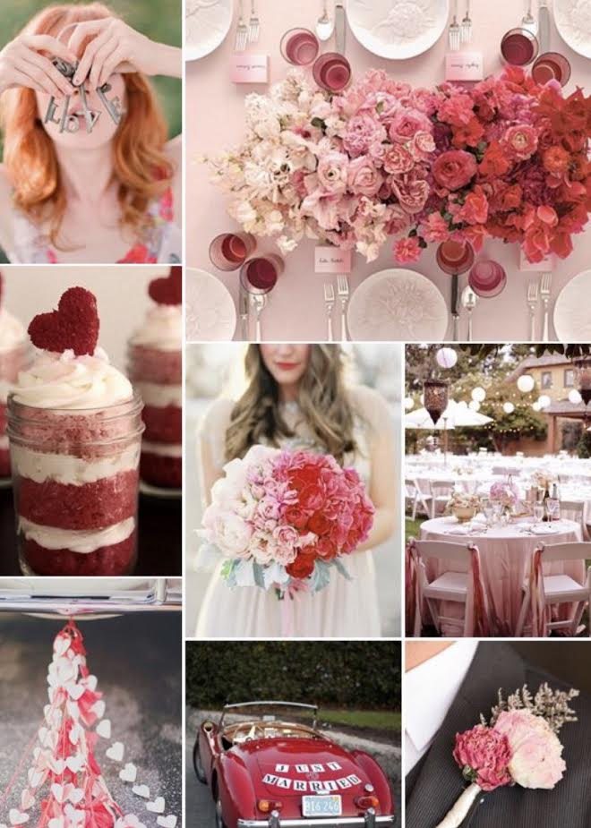This Valentines Day Wedding will make your heart beat! Image